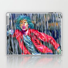 Singing in the Rain The Stones Laptop & iPad Skin