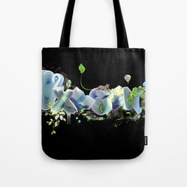 Oxygen CO2 Tote Bag