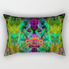A Trinitarian From Hoag's Object (scifi, visionary) Rectangular Pillow