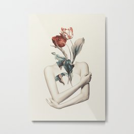 Inner beauty-collage Metal Print