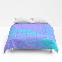 Pastel droplets Comforters
