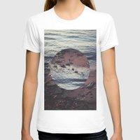 circle T-shirts featuring CIRCLE by Julia Yusupov