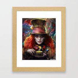 Hatter, From Wonderland Framed Art Print