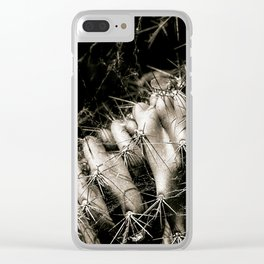 Cacti web Clear iPhone Case