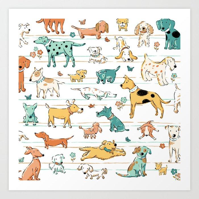 Dogs Dogs Dogs Kunstdrucke