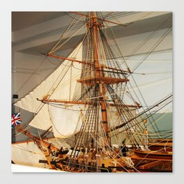 Nelson's HMS Victory Model Canvas Print