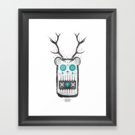 SALVAJEANIMAL MEX cuernitos Framed Art Print