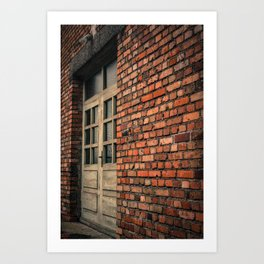 Doorway to Hell - Dachau Concentration Camp Art Print