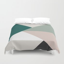 Colorful bands III Duvet Cover