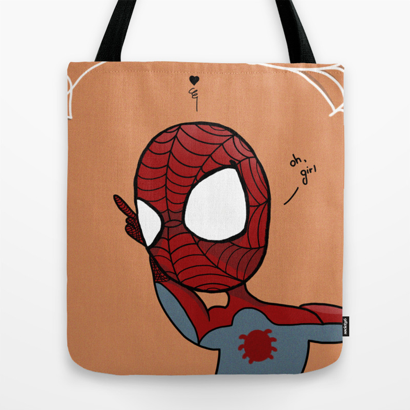 Spider Man Tote Bag by Singlitikia TBG8968211