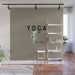 Yoga for Guys Wall Mural