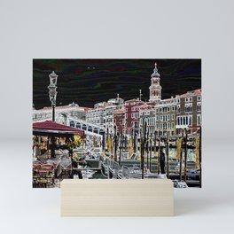 Rialto, Venezia Mini Art Print