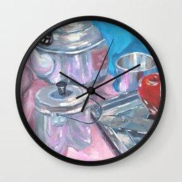 Teh-ko Teh Wall Clock