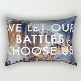 Glory of Storming the Bastille Rectangular Pillow