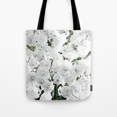Touch of White. Tote Bag