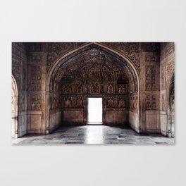 indian doorway Canvas Print