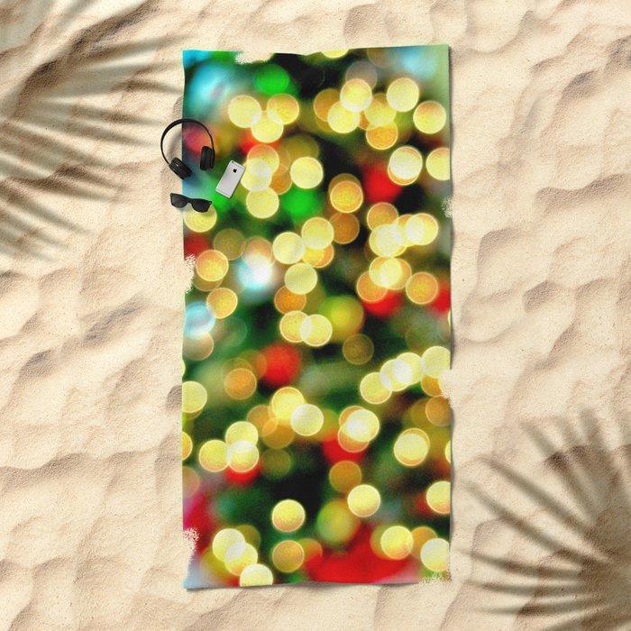 Oh Christmas Tree Beach Towel