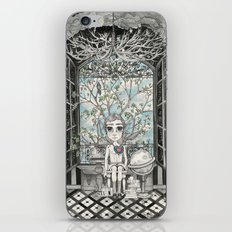 The Boy With An Apple Where His Heart Should Be iPhone & iPod Skin