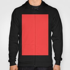 Coral red Hoody