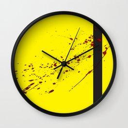 Inspired By Kill Bill Wall Clock