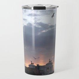 Flying over Rome Travel Mug