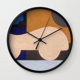Visiting Henry Moore Wall Clock