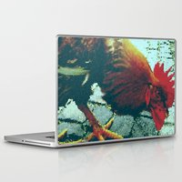 cock Laptop & iPad Skins featuring cock by habish