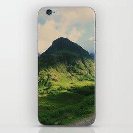 Mountain in Glencoe, Scotland iPhone Skin