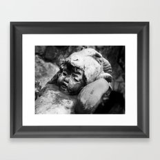 Cherub with Headdress Framed Art Print