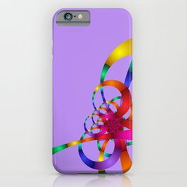 chaotic colors -1- iPhone Case