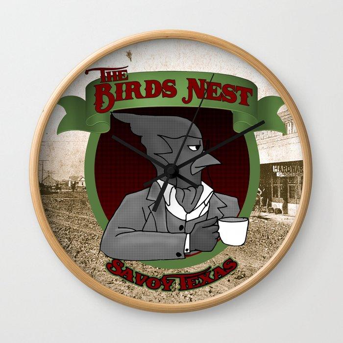The Bird's Nest Wall Clock