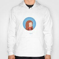 amy pond Hoodies featuring Amy Pond by Addie Thompson