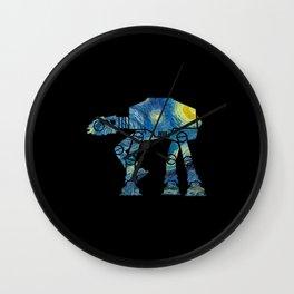 Starry Walker Wall Clock