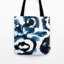 Evil Eye Indigo Tote Bag