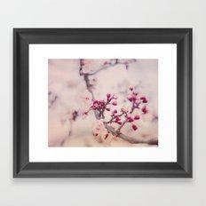 Spring Poetry Framed Art Print