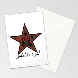 Morocco أُسُود الأطلس (Igrzamn n Atlasi, Atlas Lions) ~Group B~ Stationery Cards