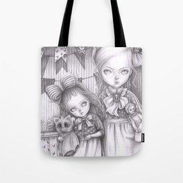Subrina and Rosabel Tote Bag