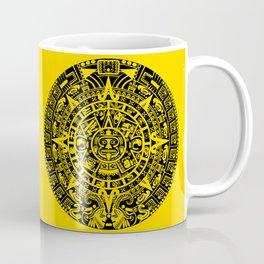 Mayan Calendar // Yellow Coffee Mug