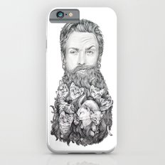 Kitten Beard iPhone 6 Slim Case