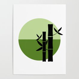 Bamboo on the horizon Poster