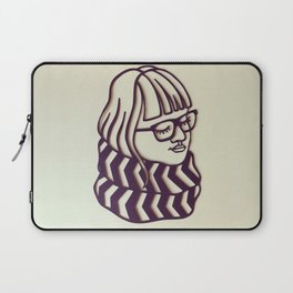 Glasses & Scarf Laptop Sleeve