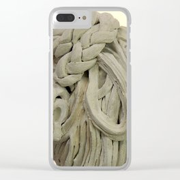 """""""Plaited"""" by ICA PAVON Clear iPhone Case"""