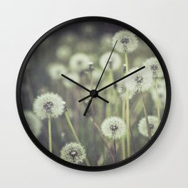 dandy field Wall Clock