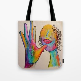 American Sign Language MOTHER Tote Bag