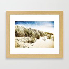 Sea and Sand, Kellogg Beach, Crescent City, California. Framed Art Print