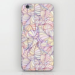 leafs color pattern iPhone Skin