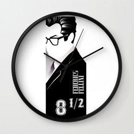 Otto e mezzo Wall Clock