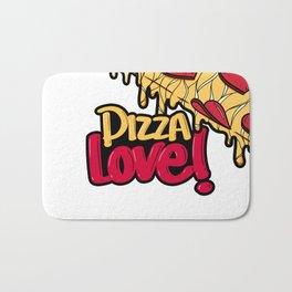 Pizza Love Bath Mat
