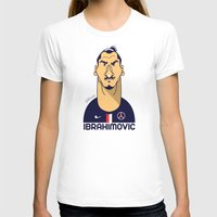 zlatan T-shirts featuring Zlatan portrait by Rudi Gundersen