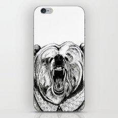 He was like a bear! iPhone & iPod Skin